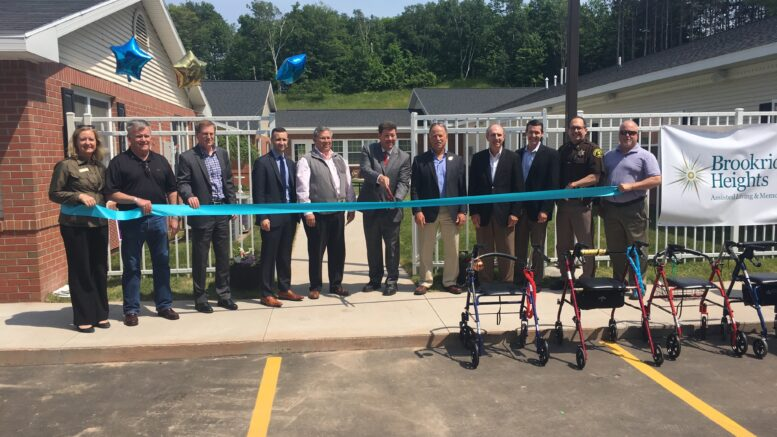 Assisted living facility celebrates expansion abc 10 cw 5 for Brookridge heights