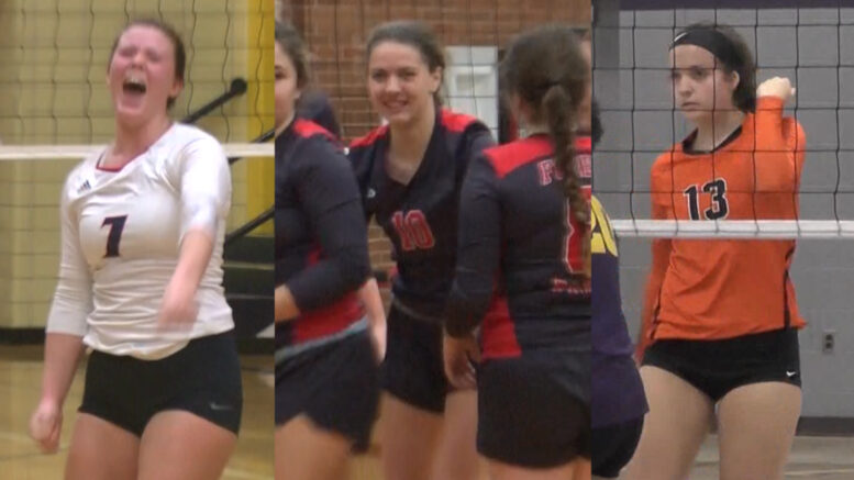 Patriots Trojans Mustangs Capture Volleyball District Titles Abc