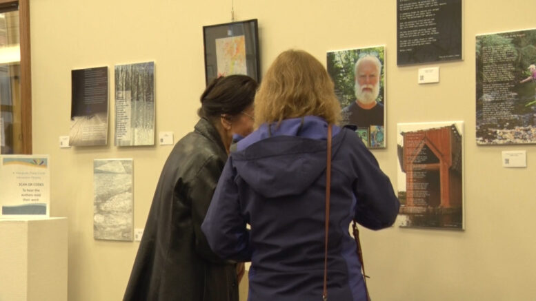 Interactive art and writing exhibit open in downtown Marquette - ABC