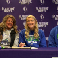 Gladstone softball's Marnea LaFave signs with Bay College